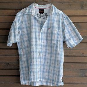 Men's Quicksilver Short Sleeve Button up